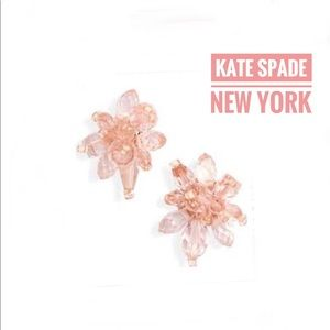 NWT authentic Kate Spade New York flower earring